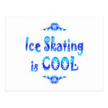 Ice Skating is Cool Post Cards