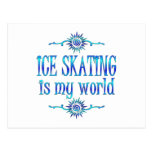 Ice Skating is My World Post Card