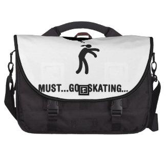 Ice Skating Laptop Bag