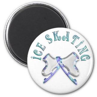 Ice Skating Fridge Magnets