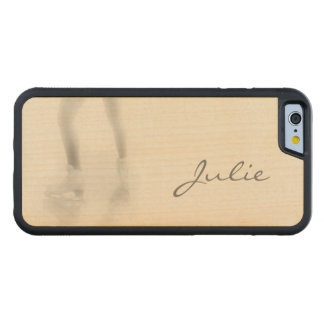 Ice skating maple iPhone 6 bumper