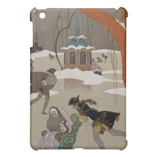 Ice Skating on the Frozen Lake iPad Mini Case