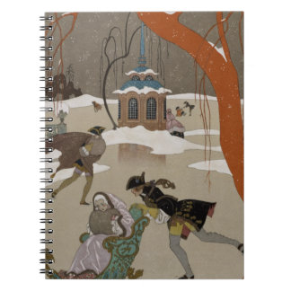 Ice Skating on the Frozen Lake Notebooks