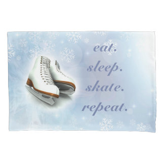 Ice Skating pillow case
