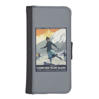 Ice Skating - PLM Olympic Promo Poster iPhone SE/5/5s Wallet Case