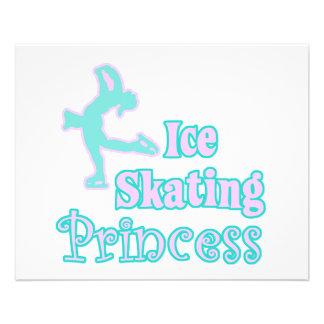 ice skating princess 11.5 cm x 14 cm flyer