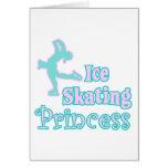 ice skating princess greeting cards