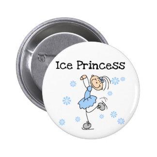Ice Skating Princess Tshirts and Gifts 6 Cm Round Badge