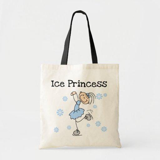 Ice Skating Princess Tshirts and Gifts Budget Tote Bag