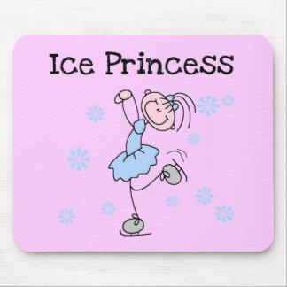 Ice Skating Princess Tshirts and Gifts Mouse Pad