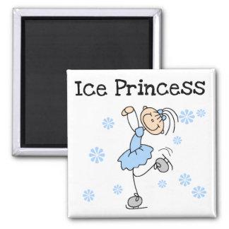 Ice Skating Princess Tshirts and Gifts Square Magnet