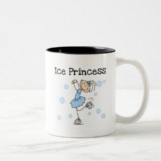Ice Skating Princess Tshirts and Gifts Two-Tone Mug