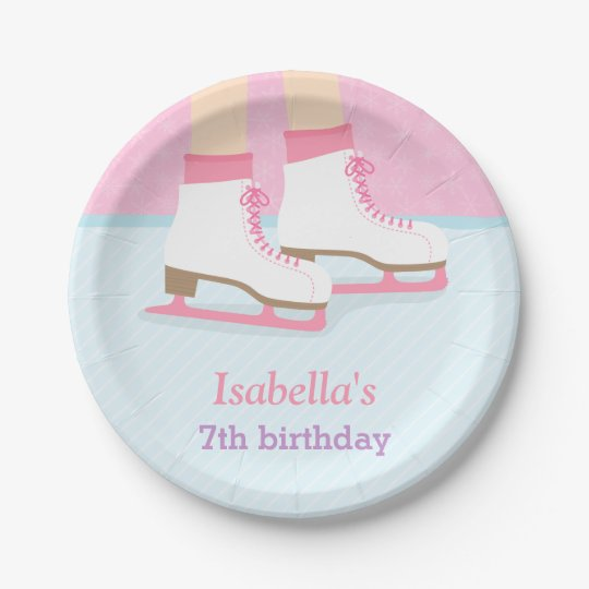 Ice Skating Rink Girls Birthday Party Supplies Paper