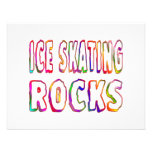 Ice Skating Rocks Personalised Announcements