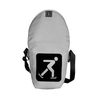 Ice Skating Sign Commuter Bag