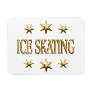 Ice Skating Stars Flexible Magnet