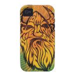Ice & Snow Viking Vibe iPhone 4 Case
