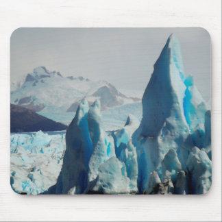 Ice Spikes In The Perito Moreno Andean Glacier Mouse Pad