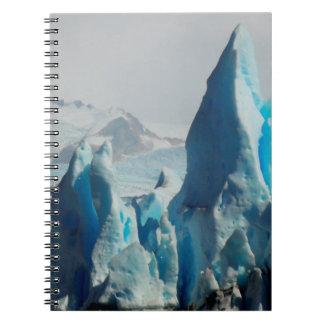 Ice Spikes In The Perito Moreno Andean Glacier Notebooks