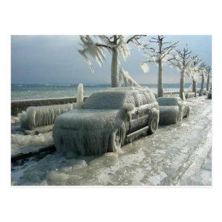 ICE STORM! POSTCARD