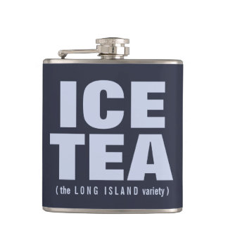 ICE TEA custom flask