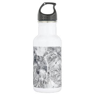 Ice texture 532 ml water bottle