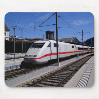 ICE train in Cologne in Germany Mouse Mat