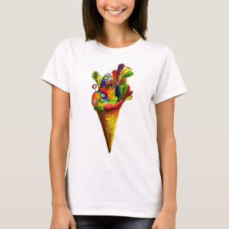 Ice Tweet Cone T-Shirt