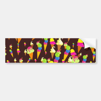 Ice Wallpaper Bumper Sticker