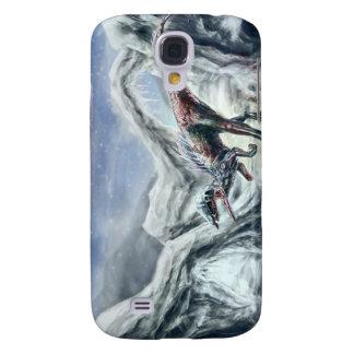 Ice Zombie Raptor Galaxy S4 Case