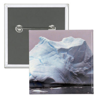 Iceberg, Antarctica 15 Cm Square Badge