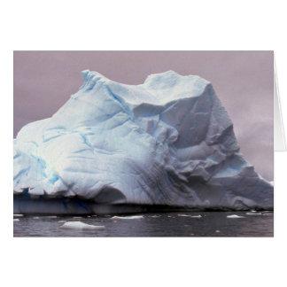 Iceberg, Antarctica Card