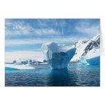 Iceberg Antarctica nature scenery Greeting Card