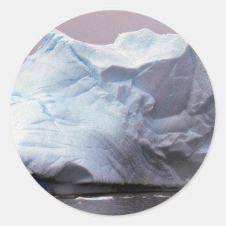 Iceberg, Antarctica Round Sticker