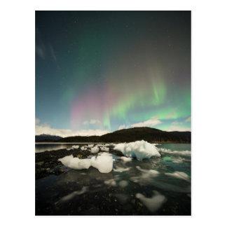 Iceberg Aurora Postcard
