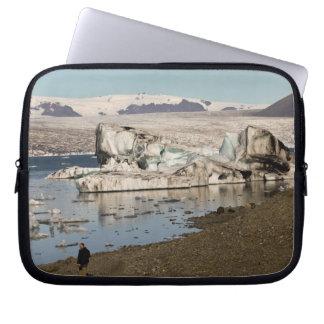 Iceberg formations 2 laptop sleeve