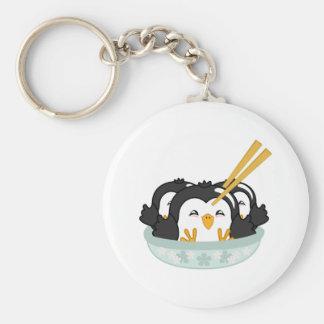 Iceberg Penguin Dumplings Key Chain