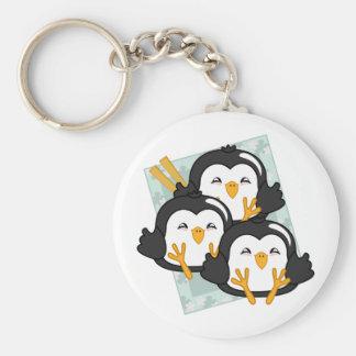 Iceberg Penguin Dumplings Platter Keychain