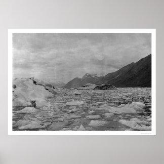Iceberg Reid Inlet 1908 Posters