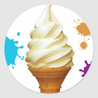 icecream cone sticker