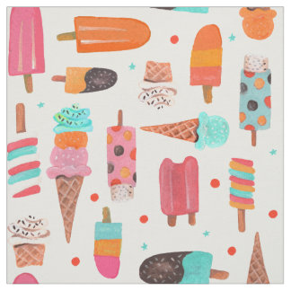 Icecream Fun | Summer | Fabric