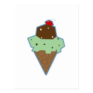Icecream Postcard