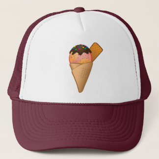 Icecream Trucker Hat
