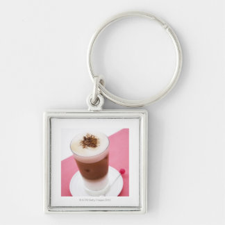 Iced Cappuccino Key Ring
