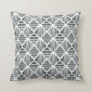 Iced coal pattern cushion
