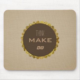Iced Coffee Afternoon Mouse Pad