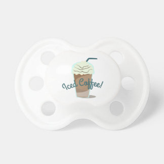 Iced Coffee Baby Pacifiers