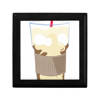 Iced Coffee Small Square Gift Box
