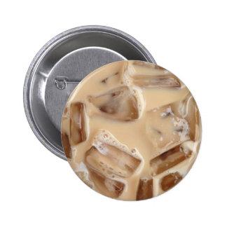 Iced coffee pin