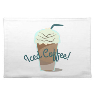 Iced Coffee Place Mat
